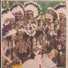 Cine: PROGRAMA CINE - FELIZ Y ENAMORADA - DIANA DURBIN - CINEMA VALIRA - LES ESCALDES ANDORRA - 1949. Lote 295458243