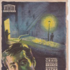 Cine: PROGRAMA DE CINE - LA GUARIDA - MICHAEL GRAIG - CINE PRADO - SITGES - 1960 - JANO. Lote 295460983