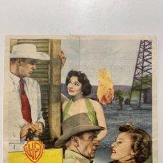 Cine: SOPLO SALVAJE (1954). CINEMA IMPERIAL, CARAVACA DE LA CRUZ ( MURCIA). Lote 295583713