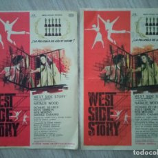 Cine: WEST SIDE STORY, NATALIE WOOD, VARIANTES VERSION ORIGINAL Y VERSION ESPAÑOLA. Lote 295613003