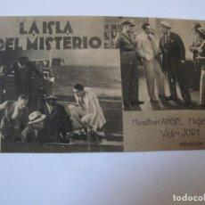 Cine: 1115 PROGRAMA DE MANO ORIGINAL EL DE LA FOTO. Lote 295732088