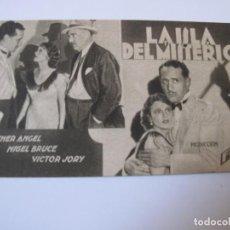 Cine: 1116 PROGRAMA DE MANO ORIGINAL EL DE LA FOTO. Lote 295732118