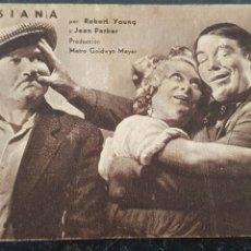 Cine: LUISIANA - METRO GOLDWYN MAYER - AÑOS 30 -ROBERT YOUNG Y JEAN PARKER.. Lote 295754098