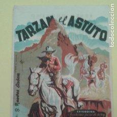 Cine: TARZAN EL ASTUTO DE LA SERIE LA MONTAÑA MISTERIOSA ORIGINAL C.P. CINEMA ALHAMBRA. Lote 295764703