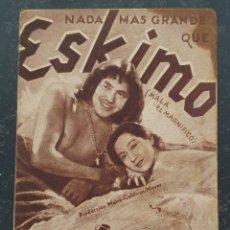 Cine: ESKIMO (MALA EL MAGNIFICO) - MGM - AÑOS 30.. Lote 295854048