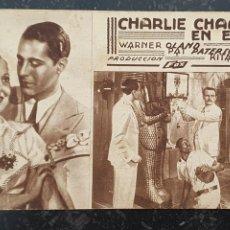 Cine: CHARLIE CHAN EN EGIPTO - CLAVÉ PALACE MATARÓ - 1936 - PRODUCCIÓN FOX.. Lote 295856683
