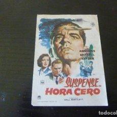 Cine: PROGRAMA DE CINE IMPRESO EN LA PARTE TRASERA. Lote 295918598
