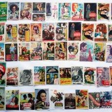 Cine: 50 PROGRAMAS SURTIDOS. LOTE Nº S-012 (13 CON IMPRESIÓN EN EL REVERSO).. Lote 296052523