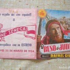 Cine: RAFAEL RIVELLES PROGRAMA DE MANO DOBLE DE LA PELÍCULA EL BESO DE JUDAS..... Lote 296587108