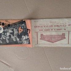 Cine: PROSPECTO DE CINE LAS 4 REVOLTOSAS -1940. Lote 296789113