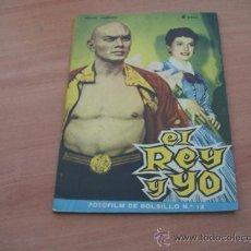 Cine: EL REY Y YO ( DEBORAH KERR, YUL BRYMMER)FOTOFILM DE BOLSILLO Nº 12 ED. MANDOLINA. Lote 10806364