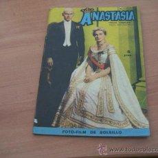 Cine: ANASTASIA ( INGRID BERGMAN, YUL BRYNNER)FOTOFILM DE BOLSILLO Nº 6 ED. MANDOLINA. Lote 10806360