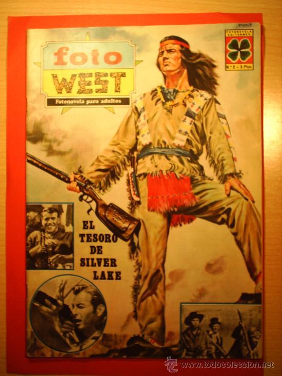 EL TESORO DE SILVER LAKE --FOTO WEST N.2--FOTONOVELADE LA PELICULA 1967 (Cine - Foto-Films y Cine-Novelas)