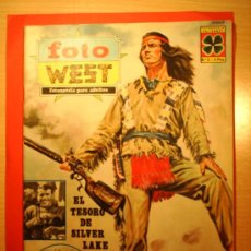 Cine: EL TESORO DE SILVER LAKE --FOTO WEST N.2--FOTONOVELADE LA PELICULA 1967. Lote 23563841