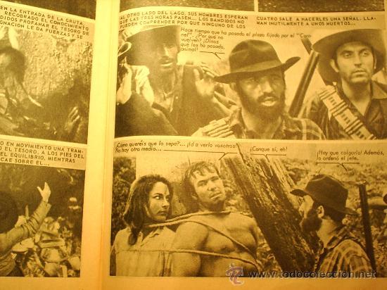 Cine: EL TESORO DE SILVER LAKE --FOTO WEST N.2--fotonovelade la pelicula 1967 - Foto 3 - 23563841