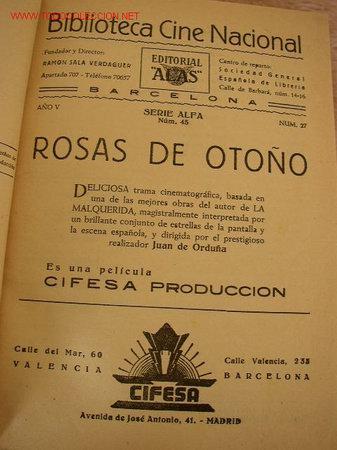 TOMO CON 7 NOVELAS ILUSTRADAS- CON MÁS DE 65 PÁG. C/U.-BIBL. CINE NACIONAL Y OTRAS (Cine - Foto-Films y Cine-Novelas)