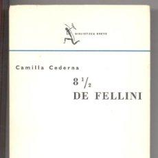 Cine: 8 1/2 DE FELLINI-CAMILLA CEDERNA- 72 PÁGS. DE FOTOS.CINE. EX-LIBRIS J.Mª LLOSENT MARAÑÓN,EX-DIPUTADO. Lote 26972960