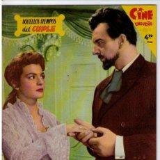 Cine: CINE ENSUEÑO.FHER 1959.AQUELLOS TIEMPOS DEL CUPLÉ. Nº 6 (ÚLTIMO). 'IMPECABLE!. Lote 16800590