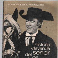 Cine: HISTORIA Y LEYENDA DEL SEÑOR DE LA SALLE.JOSÉ MARÍA JAVIERRE. 1964. CON FOTOGRAFÍAS DE LA PÉLICULA.. Lote 19534940