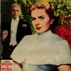 Cine: ANASTASIA. GRANDES PELÍCULAS Nº 6. FHER 1959. Lote 20047092