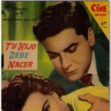 Cine: CINE ENSUEÑO. TU HIJO DEBE NACER Nº 1. FHER 1958. Lote 20047093