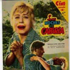 Cine: LAS NOCHES DE CABIRIA Nº 6. CINE ENSUEÑO. FHER 1959.. Lote 19817207