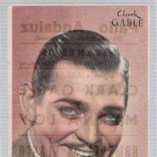 Cine: CLARK GABLE. SENCILLO DE MGM. PARA ANUNCIAR:HOMBRES EN BLANCO. PATIO ANDALUZ (CINE DE VERANO).. Lote 16409508
