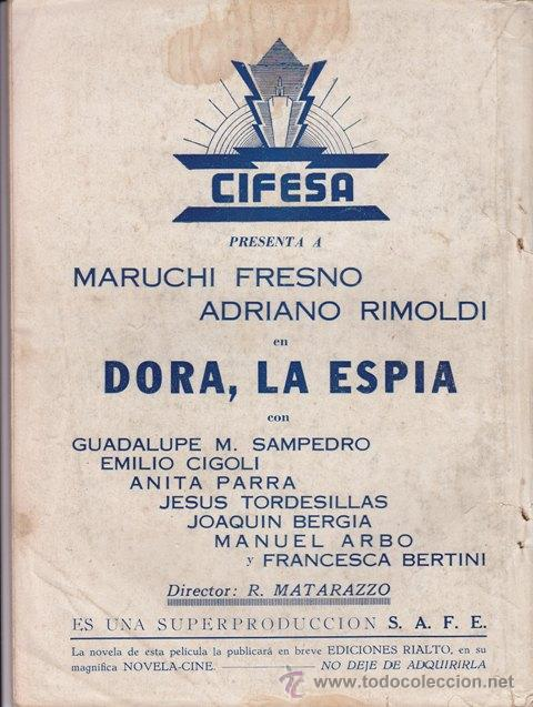 Cine: NOVELA CINEMATOGRÁFICA: SE ACABÓ LA MÚSICA.1943 - CINE - Foto 3 - 20012707