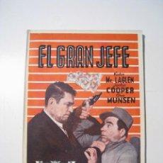 Cine: EL GRAN JEFE - CINE NOVELA - ALAS. Lote 20368161