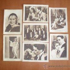 Cinema: ESTAMPAS DE CINEMA MONTE CARLO -- JEANETTE MACDONALD 1931 *. Lote 28227343