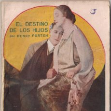 Cinema: OL05 EL DESTINO DE LOS HIJOS HENNY PORTEN NOVELA CON FOTOS BIBLIOTECA PERLA Nº 14. Lote 29042384
