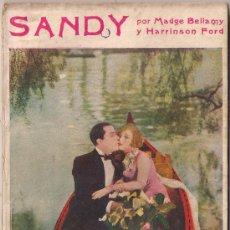 Cinema: OL12 SANDY MADGE BELLAMY HARRISON FORD NOVELA CON FOTOS BIBLIOTECA PERLA Nº 28. Lote 29047518