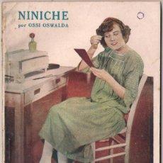 Cinema: OL25 NINICHE OSSI OSWALDA NOVELA CON FOTOS BIBLIOTECA PERLA Nº 17. Lote 29048989