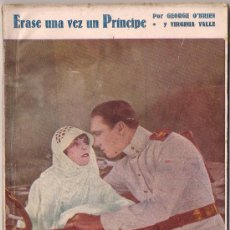 Cinema: OL31 ERASE UNA VEZ UN PRINCIPE GEORGE O'BRIEN VIRGINIA VALLI NOVELA CON FOTOS BIBLIOTECA PERLA Nº 58. Lote 29049492