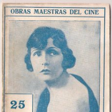 Cinema: OL77 SI LAS MUJERES MANDASEN NORMA TALMADGE NOVELA CON FOTOS OBRAS MAESTRAS DEL CINE Nº 14. Lote 29063245