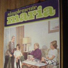 Cine: SIMPLEMENTE MARIA. Nº 40. FOTONOVELA. EDICIONES SEDMAY AÑO 1972.. Lote 29357062