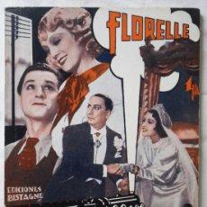Cine: LAS SORPRESAS DEL COCHE CAMA - EDICIONES BISTAGNE EDICIONES ESPECIALES - CON FLORELLE - 72 PAG.. Lote 29535421