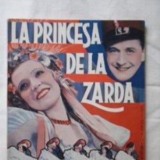 Cine: LA PRINCESA DE LA ZARDA - EDICIONES BISTAGNE EDICIONES ESPECIALES - CON HANS SOHNKER - 72 PAG.. Lote 29535433