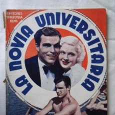 Cine: LA NOVIA UNIVERSITARIA - EDICIONES BIBLIOTECA FILMS - CON BUSTER CRABBE - 72 PAG.. Lote 29535654