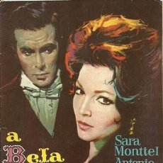 Cine: SARITA MONTIEL LIBRETO DE LA PELICULA LA BELLA LOLA, EDITADO EN PORTUGAL . Lote 29677242