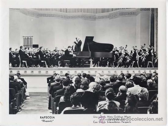 FOTO B/N 8X24 - ORIGINAL ESPAÑA METRO GOLDWYN MAYER / RAPSODIA (Cine - Foto-Films y Cine-Novelas)