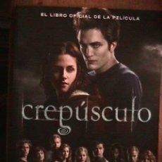 Cine: CREPUSCULO, EL LIBRO OFICIAL DE LA PELICULA, MARK COTTA VAZ, ALFAGUARA, 2008. Lote 30238975