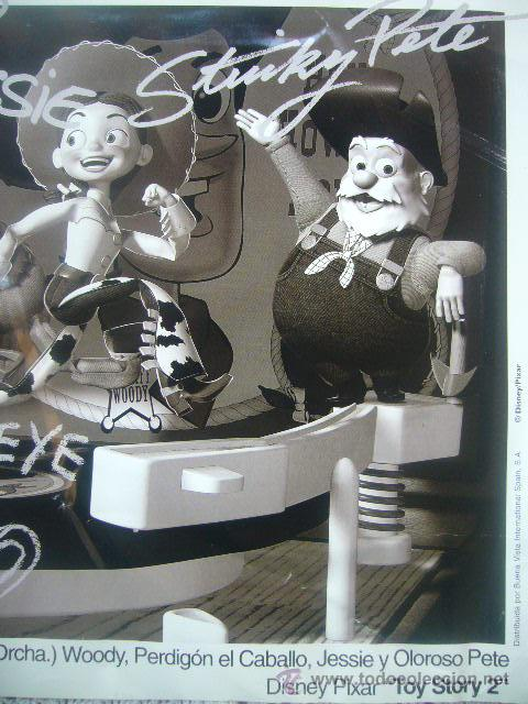 Cine  foto cartelera de CINE lanzamiento TOY STORY 2 Disney  pixar  b.v.i.spain 4377a7cdf65