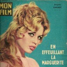 Cine: BRIGITTE BARDOT FOTONOVELA DEL FILM EN EFFEUILLANT LA MARGUERITE.. Lote 30684578