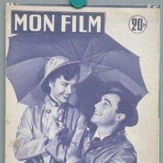 Cinema: G4329 CANTANDO BAJO LA LLUVIA GENE KELLY DEBBIE REYNOLDS MON FILM REVISTA MNOVELA FOTOS FRANCIA 1953. Lote 31352399