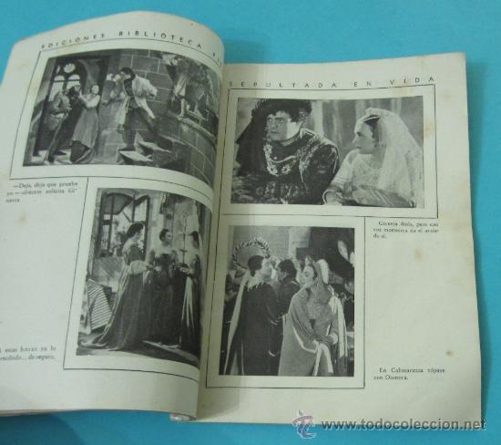 Cine: SEPULTADA EN VIDA. PORTADA ELSA MERLINI. EDICIONES BIBLIOTECA FILMS Nº 227 - Foto 2 - 31541588