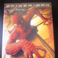 Cinema: SPIDERMAN. PETER DAVID LA NOVELA ALBERTO SANTOS EDITOR 2003 PRECINTADO!!. Lote 88874342