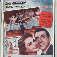 Cine: LUIS MARIANO : CITA EN GRANADA. Lote 191344781