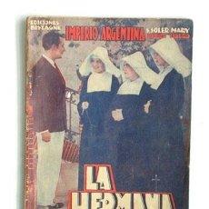 Cine: LA HERMANA SAN SULPICIO DE A. PALACIOS VALDÉS, EDIC. BISTAGNE. Lote 57023303