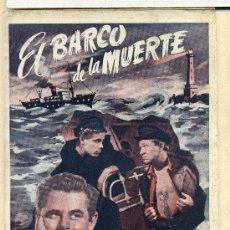 Cine: EL BARCO DE LA MUERTE, CON GLENN FORD. NOVELILLA.. Lote 35545068